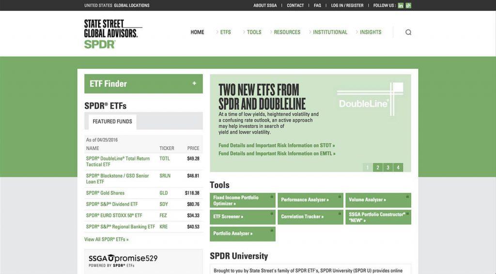 14 of the Best Designed ETF Websites 15