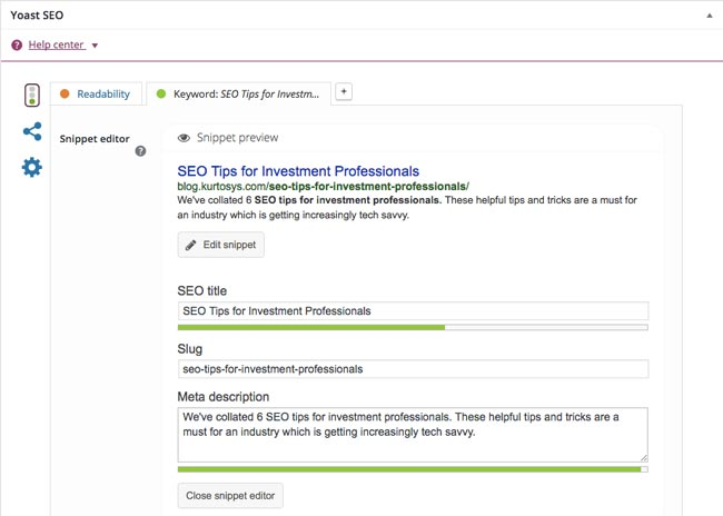 SEO Tips for Investment Professionals 3