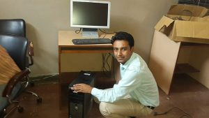 Kurtosys Assists Sanshil Foundation with Kids' Computers 1