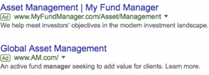 SEO for Asset Managers – Where to Start 1