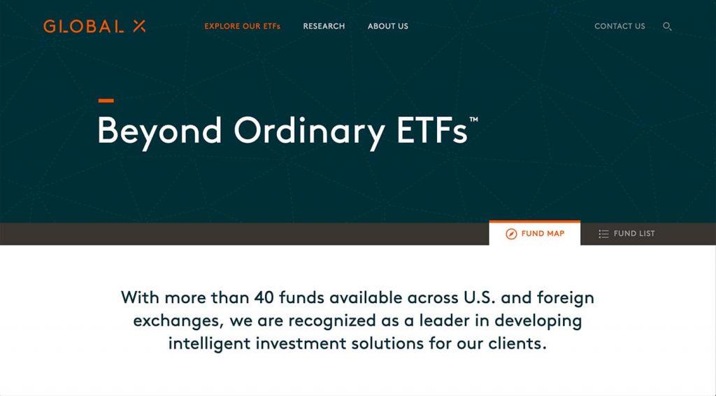 14 of the Best Designed ETF Websites 8