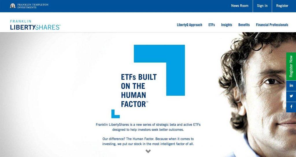 14 of the Best Designed ETF Websites 7