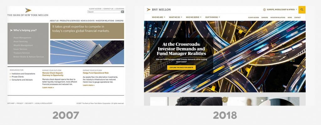 Asset Manager Websites Then & Now 3