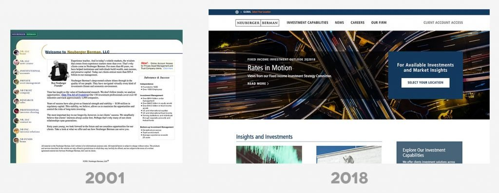 Asset Manager Websites Then & Now 6