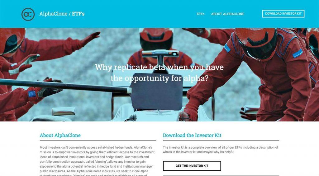 14 of the Best Designed ETF Websites 3
