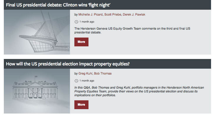 How 6 Asset Managers Reacted to the US Election 3