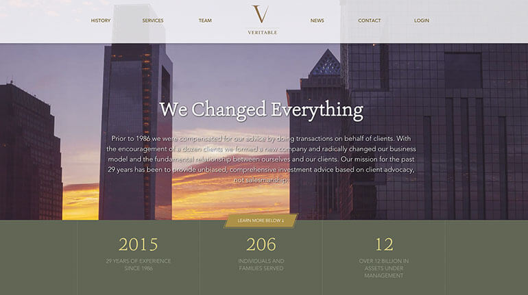 25 of the Best Designed Investment Management Websites 26